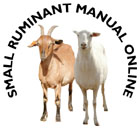 Small Ruminant Online Manual